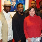 At Conan O' Brien taping with Lee Boys 2008