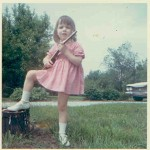 Me at two!  My love of music started early!
