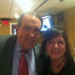 Backstage at The Mike Huckabee Show 2012